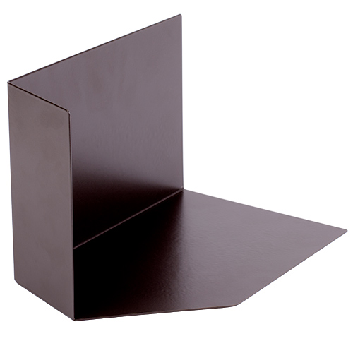 Kickout Flashing - Left - Brown Powder-Coated